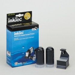 Plnící sada InkTec pro HP 364/364XL 2x20ml černá foto + plnící držák