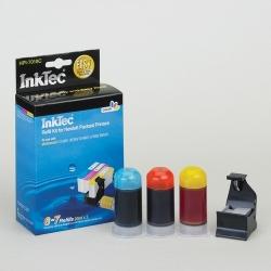 Plnící sada InkTec pro HP 364/364XL 3x20ml barevná + plnící držák