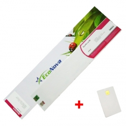 Agfa kompatibilní kazeta InkTec EcoNova ID 440ml Magenta + SmartCard