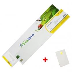 InkTec EcoNova ID 440ml Yellow + SmartCard Mutoh