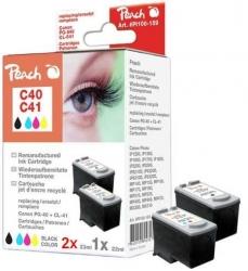 Canon PG-40/CL-41 pack kompatibilních inkoustových kazet Peach, 2x černá (23ml) + barevná (22ml)