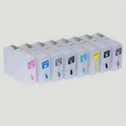 CISS pro Epson Stylus Pro 3850, autoreset čip, Yellow