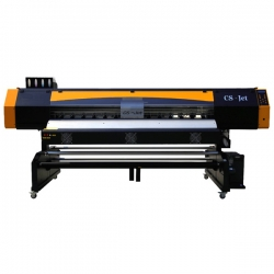 Large format sublimation printer CS-Jet 1802, 2x DX5, 180cm