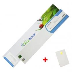 Agfa kompatibilní kazeta InkTec EcoNova ID 440ml Light Cyan + SmartCard