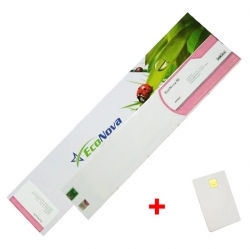 Agfa kompatibilní kazeta InkTec EcoNova ID 440ml Light Magenta + SmartCard