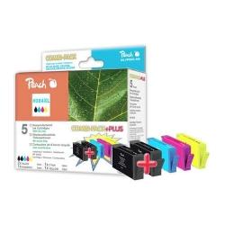 HP 364XL (N9J74AE) kompatibilní pack plus inkoustových kazet Peach, 2x černá + 3 barvy