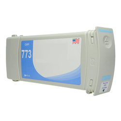 HP 773C (C1Q42A) compatible 775ml Cyan