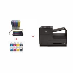 HP OfficeJet Pro X451dw + CISS systém + 4l inkousty InkTec
