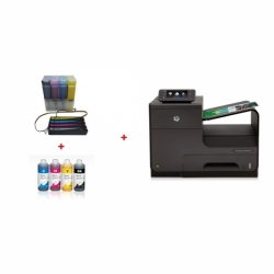 HP OfficeJet Pro X551dw + CISS systém + 4l inkousty InkTec