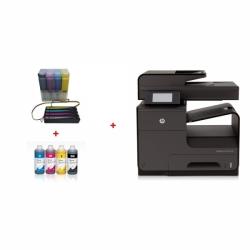 HP OfficeJet Pro X576dw + CISS systém + 4l inkousty InkTec