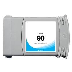 HP 90 (C5061A) compatible 400ml Cyan