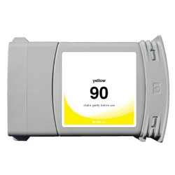 HP 90 (C5065A) compatible 400ml Yellow