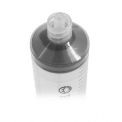 Injekční stříkačka odolná solventu s Luer Lock 50ml