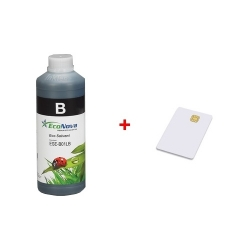 Inkoust InkTec EcoNova Solvent pro Mutoh, Oce a Xerox 1l Black + SmartCard 1l