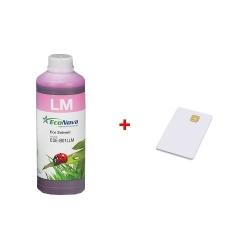 Inkoust InkTec EcoNova Solvent pro Mutoh, Oce a Xerox 1l Light Magenta + SmartCard 1l