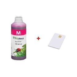 Inkoust InkTec EcoNova Solvent pro Mutoh, Oce a Xerox 1l Magenta + SmartCard 1l