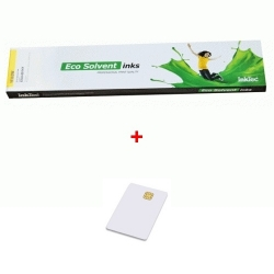 Inkoustová kazeta InkTec 440ml Yellow EcoNova Pigment pro Oce + SmartCard