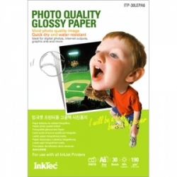 InkTec foto papír Light Weight Glossy A6 2880dpi 190g/m2 30listů