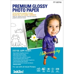 InkTec Heavy Weight High Glossy Photo Paper A6 2880dpi 270g/m2 30 listů