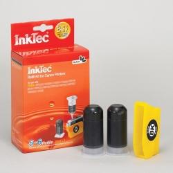 Plnící sada InkTec pro Canon CLI-526BK 2x20ml černá + plnící držák