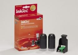 Plnící sada InkTec pro Canon PG-37/40/50BK 2x20ml černá Pigment + plnící držák