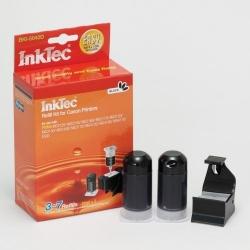 Plnící sada InkTec pro Canon PG-540/540XL 2x20ml černá Pigment + plnící držák