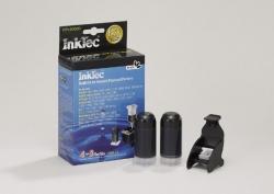 Plnící sada InkTec pro HP 21/27/56 2x20ml Pigment + plnící držák