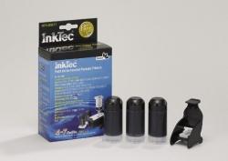 Plnící sada InkTec pro HP 337/339 3x20ml černá Pigment + plnící držák