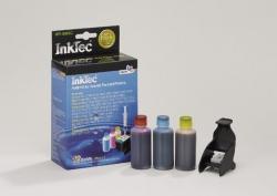Plnící sada InkTec pro HP 342/343/344 3x25ml barevná + plnící držák