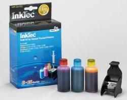 Plnící sada InkTec pro HP 351/351XL 3x25ml barevná + plnící držák