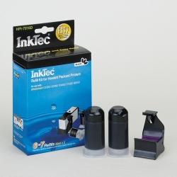 Plnící sada InkTec pro HP 364/364XL 2x20ml černá Pigment + plnící držák