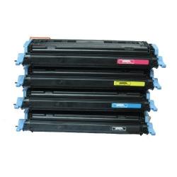 Canon CRG-711 / HP Q647xA pack tonerů, černý+ 3 barvy