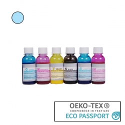 Textile Pigment DTG 100ml Light Cyan