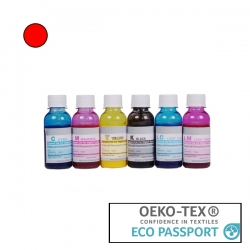Textile Pigment DTG 100ml Red