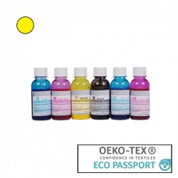 Textile Pigment DTG 100ml Yellow