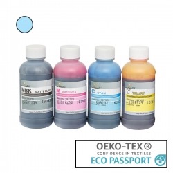 Textile Pigment DTG 200ml Light Cyan