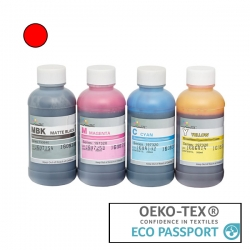 Textile Pigment DTG 200ml Red