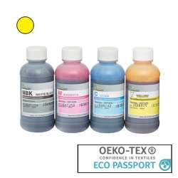 Textile Pigment DTG 200ml Yellow