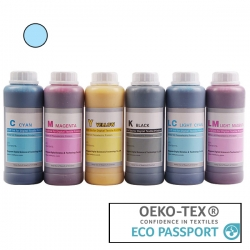 Textile Pigment DTG 500ml Light Cyan