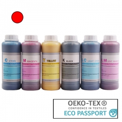 Textile Pigment DTG 500ml Red