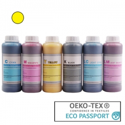 Textile Pigment DTG 500ml Yellow