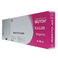 Replacement Cartridge UV LED 220ml Magenta for Mutoh