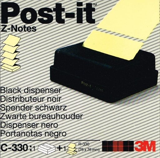 zwarte post its